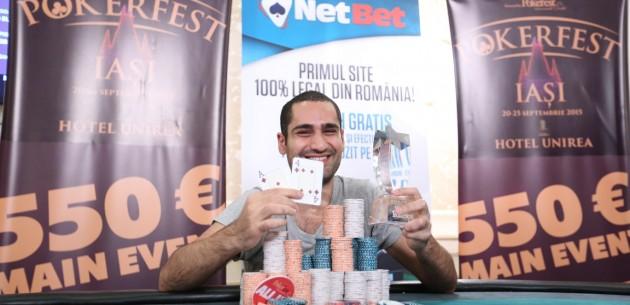 amir hillel campion israel poker tour