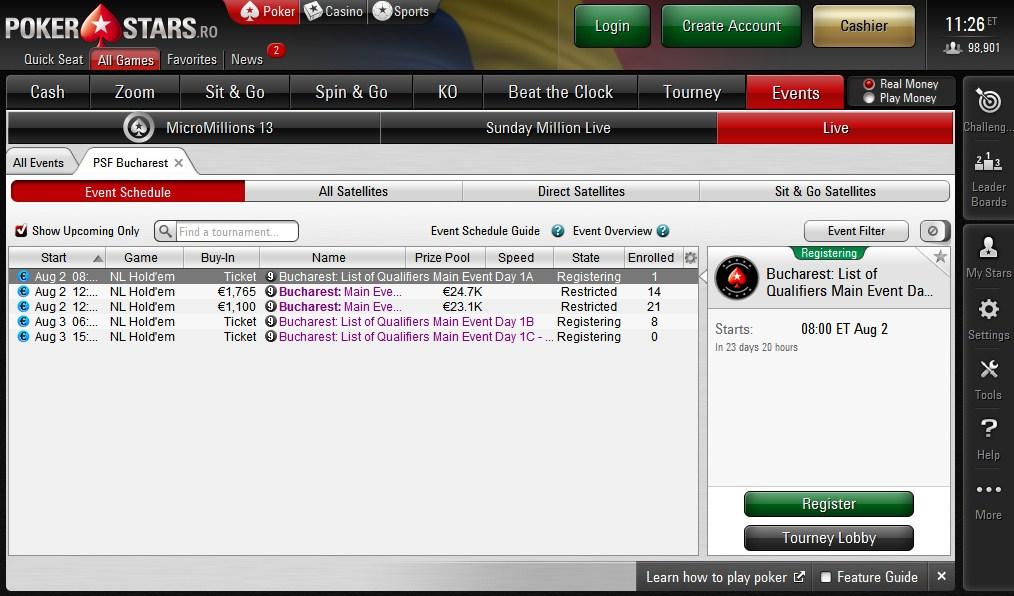 Pokerfest online dating
