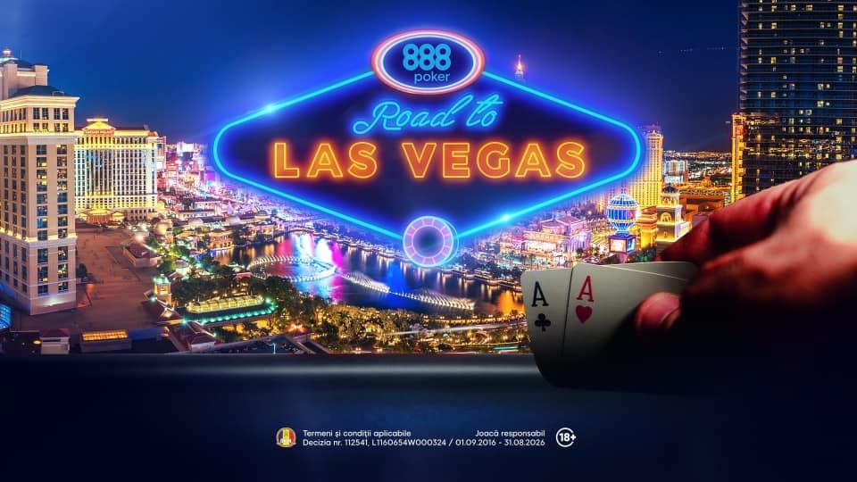 "Calificari online pe 888poker.ro pentru ""Road to Las Vegas""!"